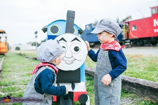 Thomas and his Engineers Homemade Costume