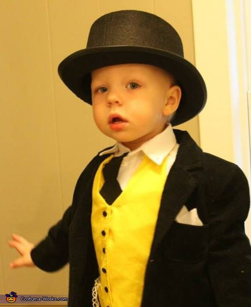 Henry as Sir Topham Hatt!, Thomas & Friends Costume