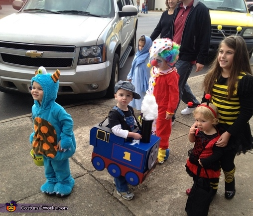 Thomas the Tank Engine DIY Costume