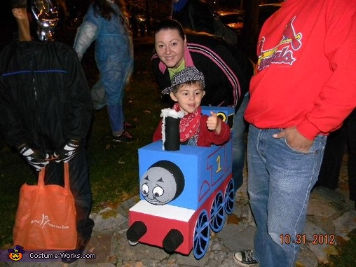 front view, Thomas the Train Costume