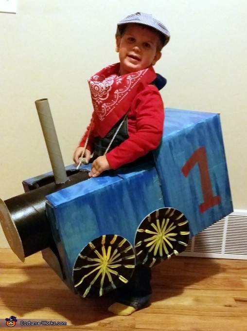 Thomas the Train Conductor Costume