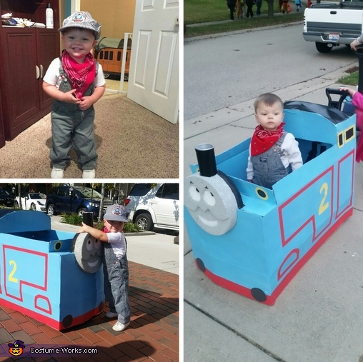 Thomas the Train Engineer Homemade Costume