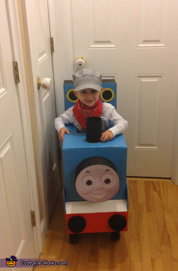 Thomas the Train with Conductor Costume