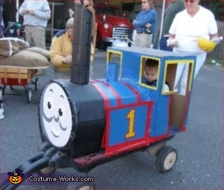 Thomas the Train - Homemade costumes for boys