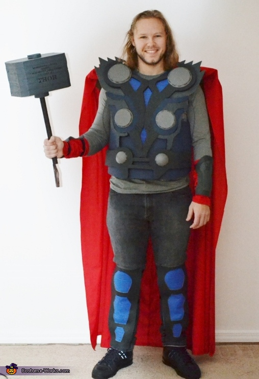 Thor Costume  sc 1 st  Costume Works : thor hammer costume  - Germanpascual.Com