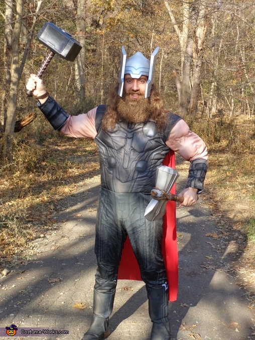 Look out, Loki, Ultron, and Thanos!  Thor is ready to take you on!!, Thor Odinson Costume