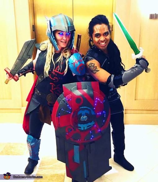 Genderbent Partners!, Thor Ragnarok Costume