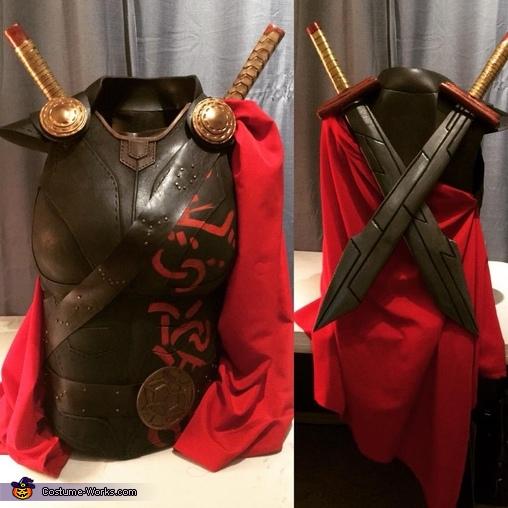 Armor Close up, Thor Ragnarok Costume