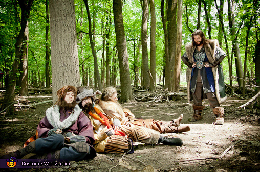 Bunch of Lazy Dwarves, Thorin Oakenshield Costume