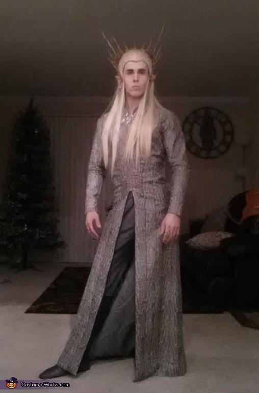 Channeling my inner Thranduil, Thranduil, King of Mirkwood Costume