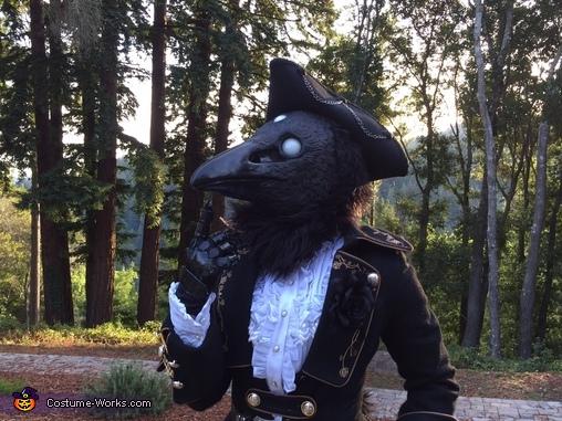 Thinking, Three-Eyed Raven Costume