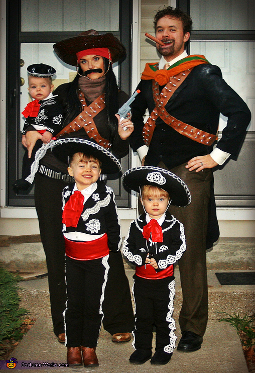 Three Amigos Family Costume