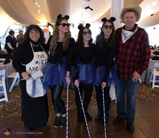 Mice Family, Three Blind Mice Costume