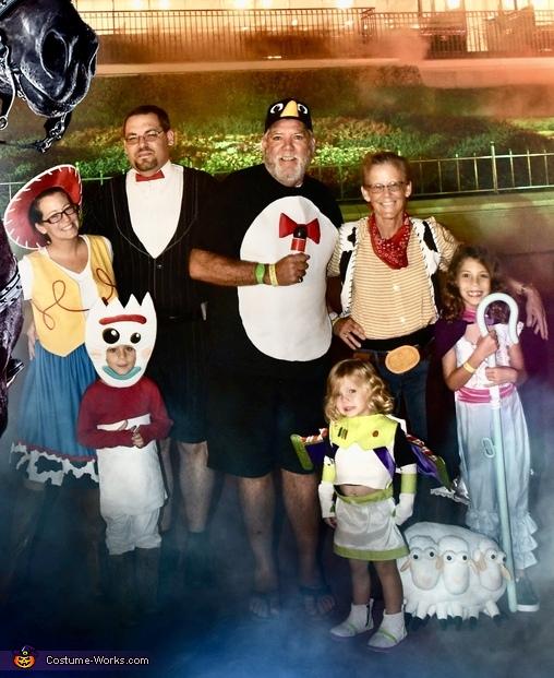 Three Generation Toy Story Costume