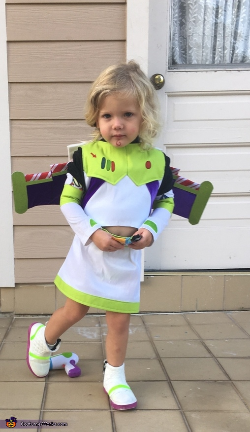 Retro Baby Buzz Lightyear, Three Generation Toy Story Costume