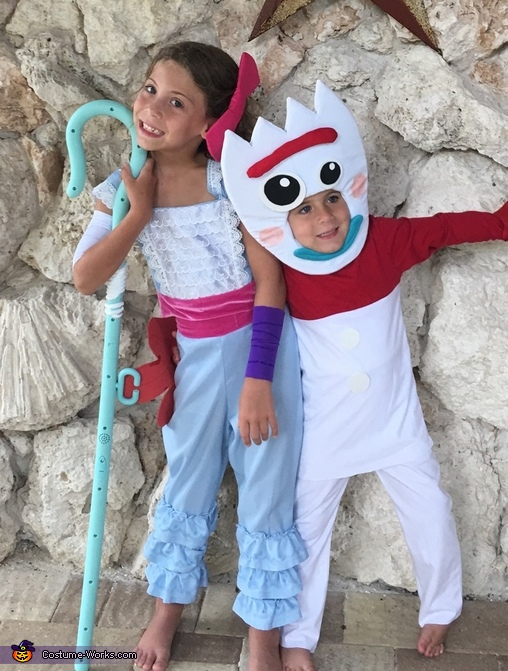 Bo Peep and Forky, Three Generation Toy Story Costume