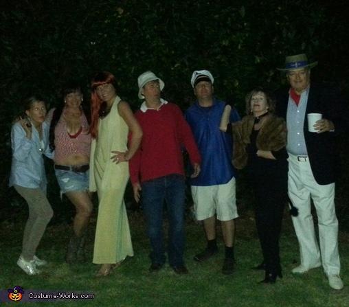Three Hour Tour Group Costume