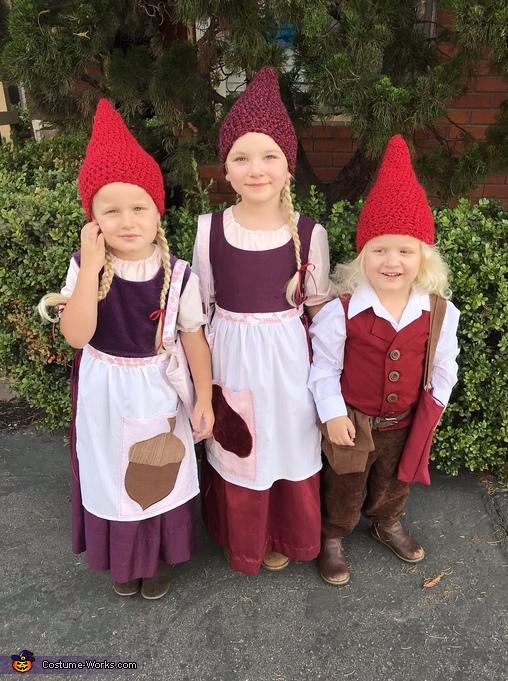 Three Little Gnomes Costume