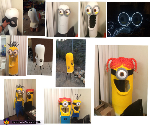 The Making, Three Little Minions Costume