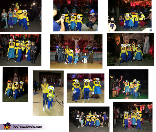 Awards and People Reactions, Three Little Minions Costume
