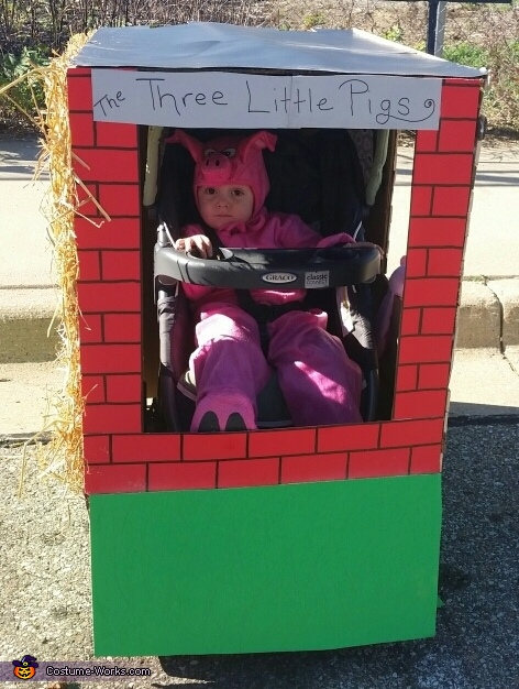 Three Little Pigs Storybook Costume