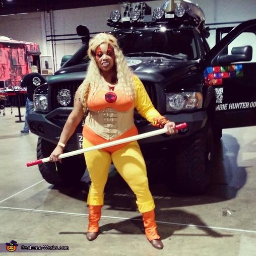 Cheetara, Cheetara from ThunderCats Costume