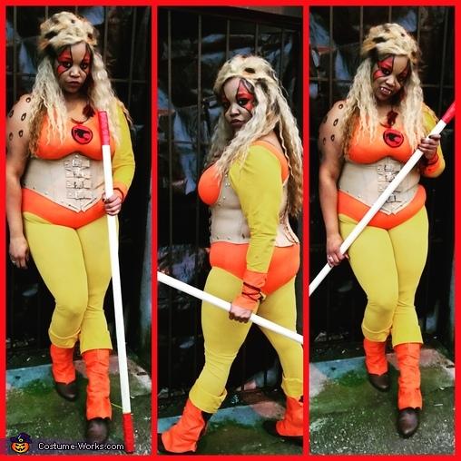 ThunderCats Cheetara Homemade Costume