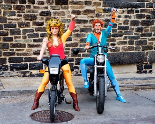 Cheetara and Tygra from ThunderCats Costume