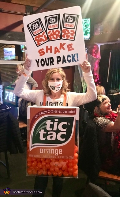 Tic Tac Shake Your Pack Costume