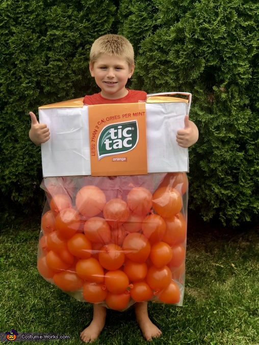 Tic Tacs Homemade Costume