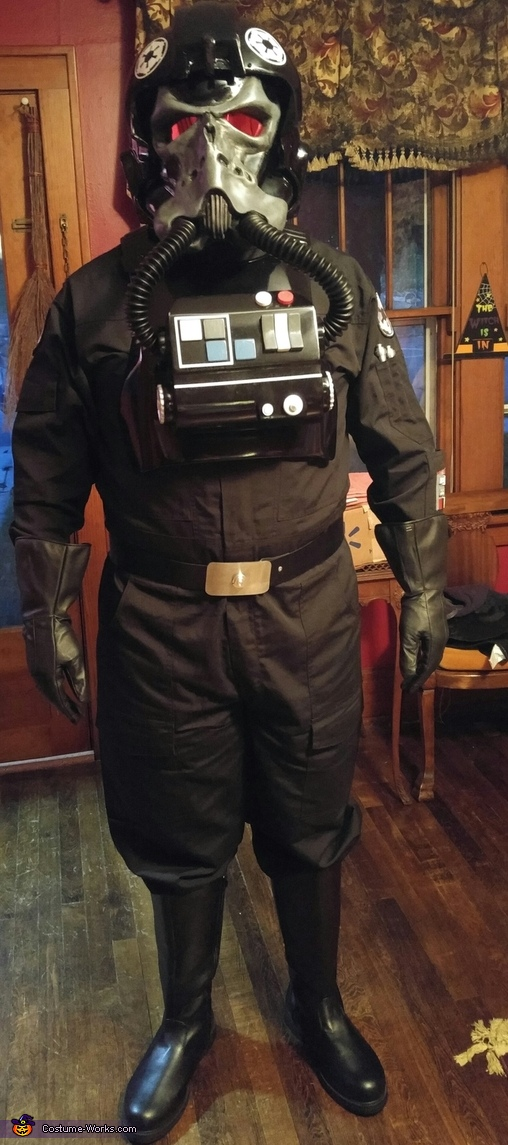 TIE Pilot from Hell Costume