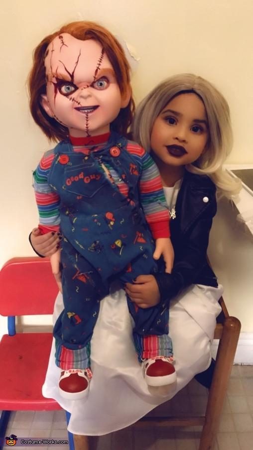 Tiff, Chucky's Bride Costume