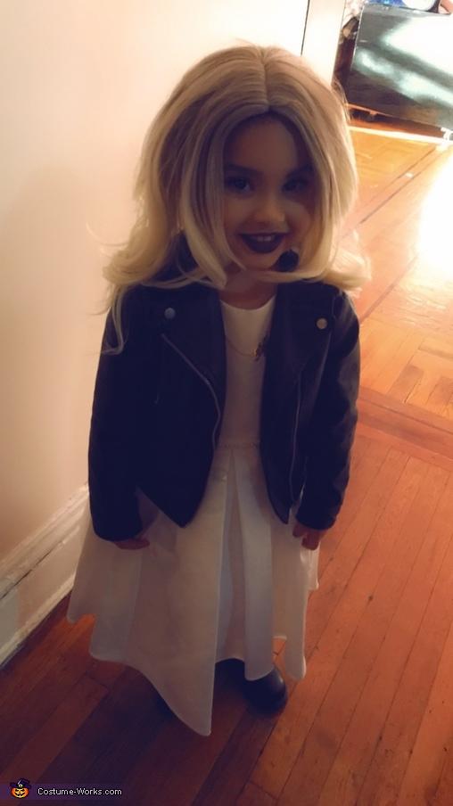 Tiff, Chucky's Bride Homemade Costume