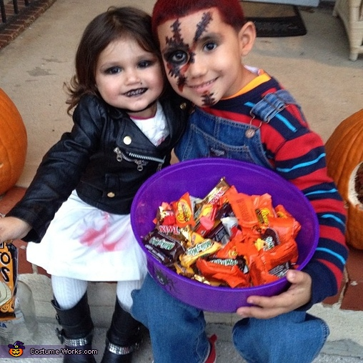 Tiffany and Chucky Costume