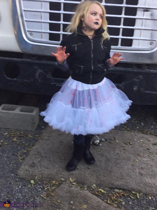 Tiffany, Bride of Chucky Homemade Costume