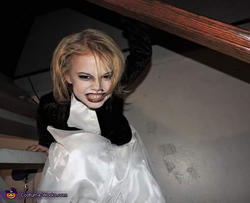Tiffany from Bride of Chucky Homemade Costume