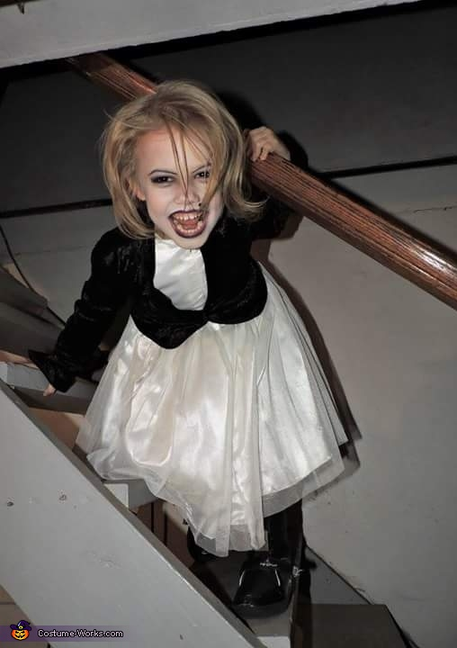 Tiffany from Bride of Chucky Homemade Costume