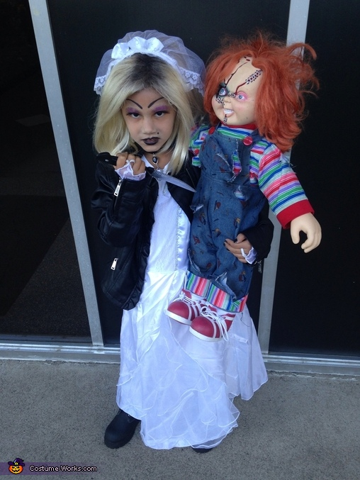 tiffany the bride of chucky costume