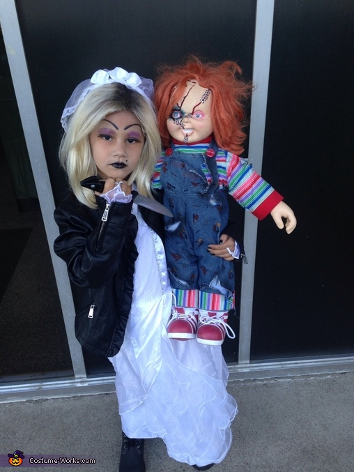 Tiffany the Bride of Chucky Homemade Costume