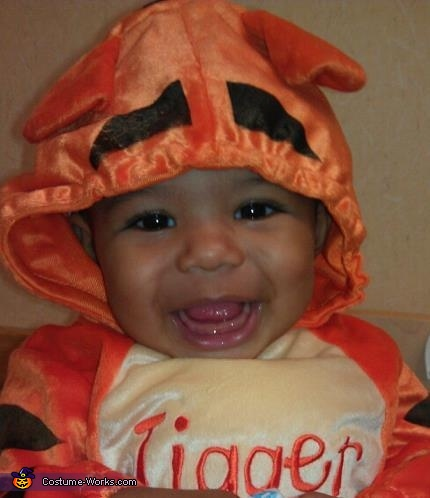 Bouncy Tigger - Homemade costumes for babies