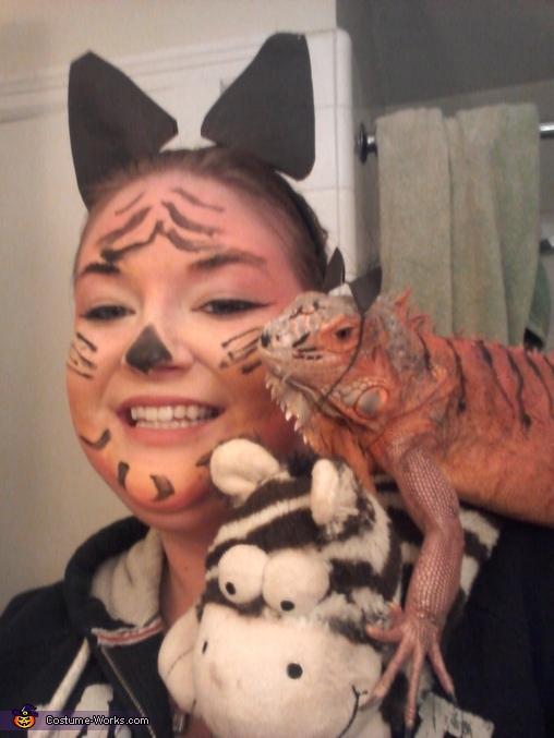 Tiger Iguana Costume