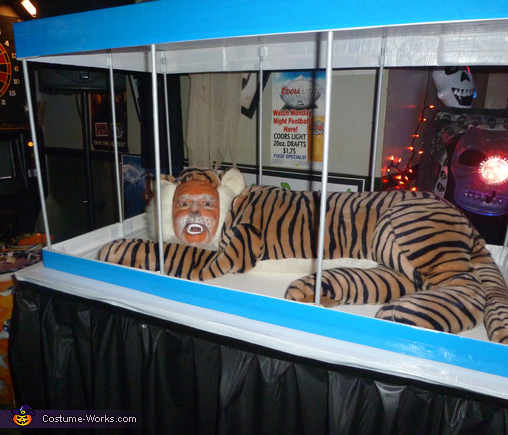 Tiger in a Cage Costume
