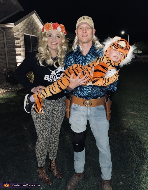 Tiger King Costume