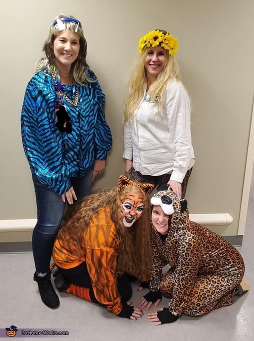 Tiger King Group Homemade Costume