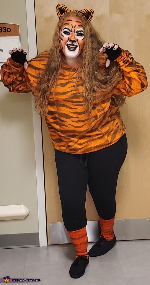 Tiger King (Tiger) Costume