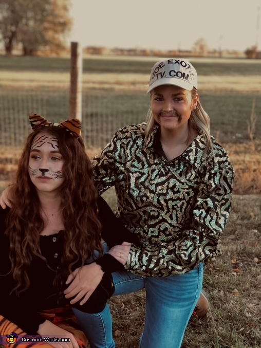 Tiger Queens Homemade Costume
