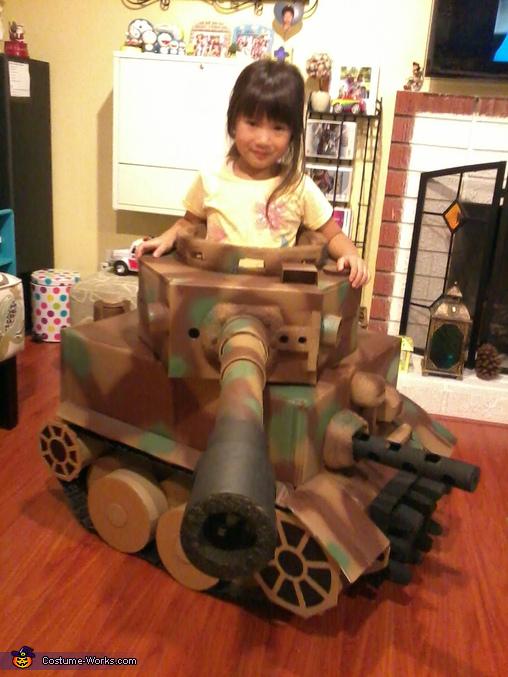 Tiger Tank Costume