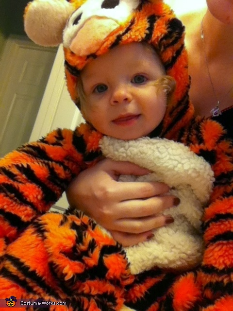 Tigger - Homemade costumes for babies