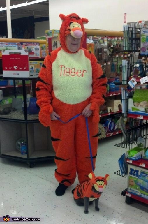 Tigger & Baby Tigger Costume