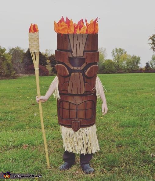 Tiki Boy Costume